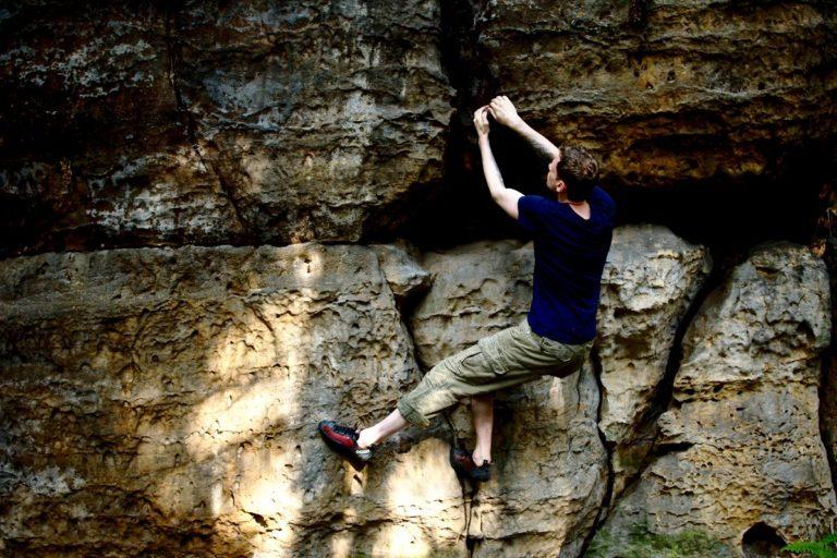 Bouldern im Bahratal